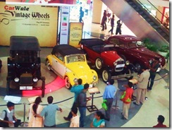 Vintage Cars at Inorbit